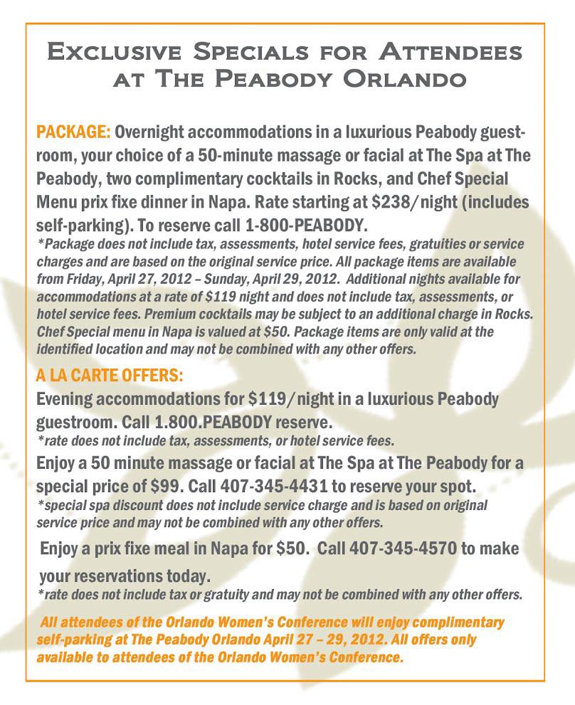 Peabody Specials