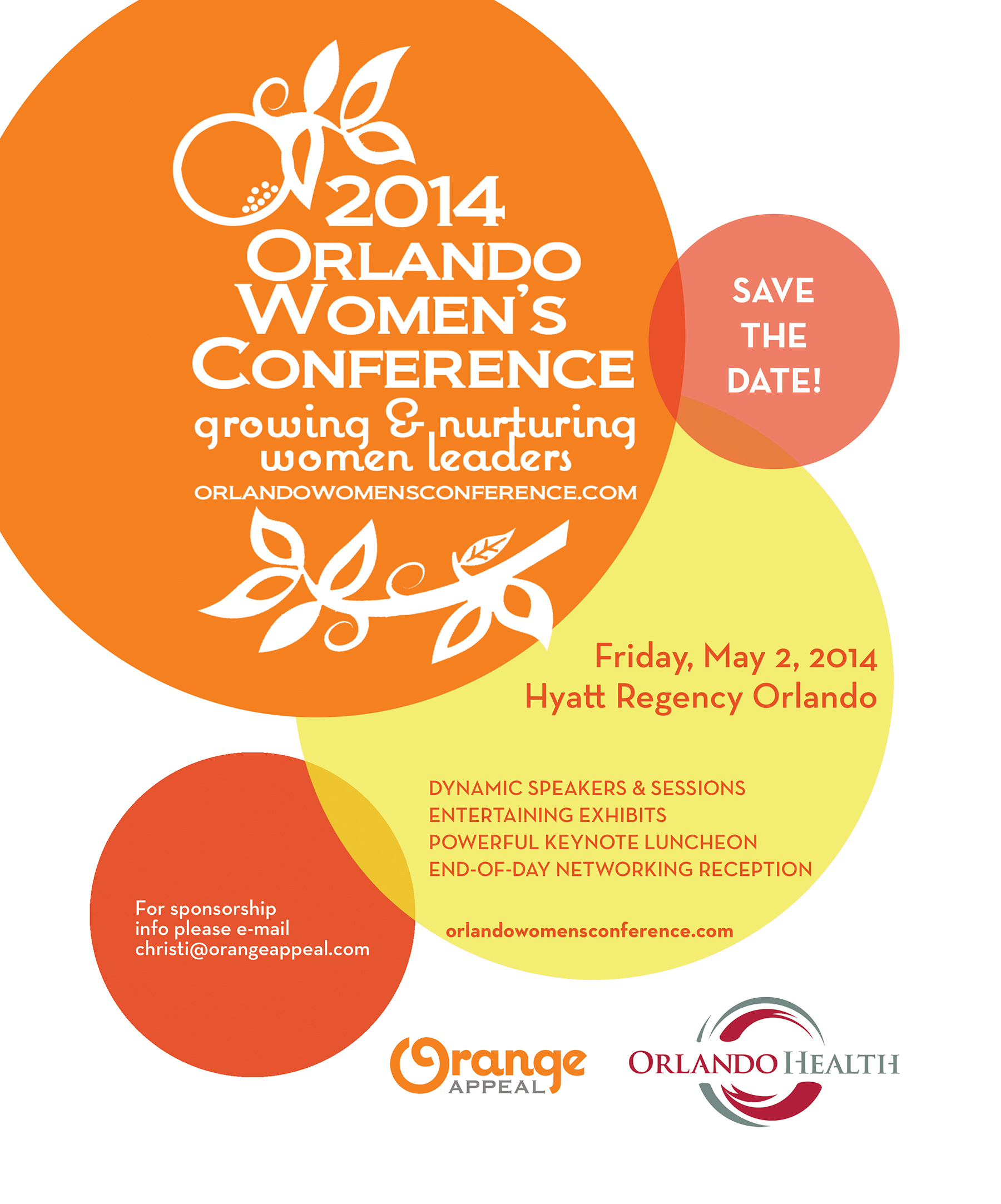 save the date 2014 orlando women s conference friday may 2